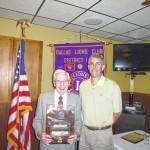 Dallas Lions Club member Joe Canfield receives highest Lionism award