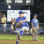 Luke Spencer leads Dodgers to Back Mountain Baseball victory