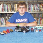 Nick Godin will display cars at Back Mountain Memorial Library