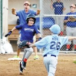 Zach Luksic cracks two home runs to lift BMT American over BMT National in Little League pool play