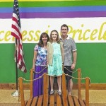 Girl Scout Bridging Ceremony held at Dallas Elementary School