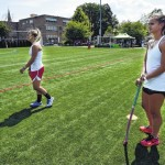 Olympian Paige Selenski, of Shavertown, teaches at Wyoming Seminary field hockey camp after Pan Am Games