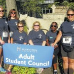 Misericordia University students particiapte in Pauly Friedman 5K Family Walk-Run