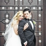 Brittany Prater and Dr. Douglas Zaruta exchange wedding vows