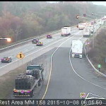 Traffic report for Oct. 8
