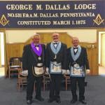 Peter Calkins earns Daniel Carter Beard Masonic Scouter Award