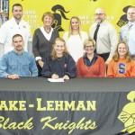 Katie Supey will attend Syracuse University next year