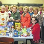 Women of Trinity Presbyterian Church support the food pantry