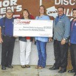 Thomas' Market gives back with charitable donations