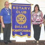Dallas Rotary Club welcomes new member