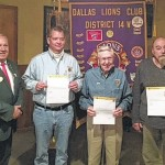 Lions awarded for service