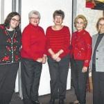 Women of Trinity installs officers