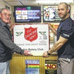 Dallas Rotary Club rings the bells for the Salvation Army