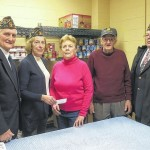 Daddow-Isaacs Dallas American Legion and Legion SAL (Sons of the American Legion) donate to Back Mountain food pantry