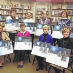 Friends of the Back Mountain Memorial Library participate in Paint and Sip fundraiser in Dallas
