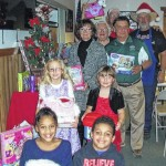 Tunkhannock Lions collect toys for Interfaith Friends