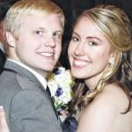 Amanda Ferrier and Christopher Wilson engagement