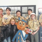 Scouts from Troop 146 visit Dallas Post Office