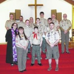 Boy Scouts celebrate their special day