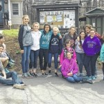 Solomon students volunteer at Blue Chip