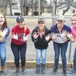 Misericordia students volunteer during spring break