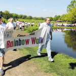 Candy's Place Rainbow Walk, set for May 7 at Kirby Park, brings cancer survivors and their supporters together