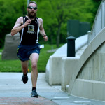 Area runners brave wind, hail during River Street Run