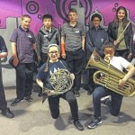 Seminary students perform at band fest