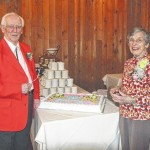 Dallas Rotary members celebrate 90th birthday