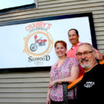 Crabby's Seafood Grill and Pipes Bar docks in Dallas Township