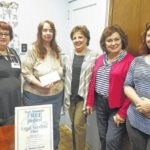 Back Mountain Clinic receives donation