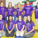Misericordia students work with autism social camp