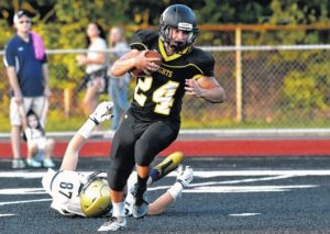 Lake-Lehman's running game too much for Meyers