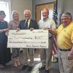 Back Mountain Chamber donates to 1st Lt. Michael J. Cleary Memorial Fund