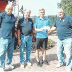 Dallas Knights donate to St. Joseph's Center