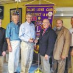 Dallas Lions Club installs officers