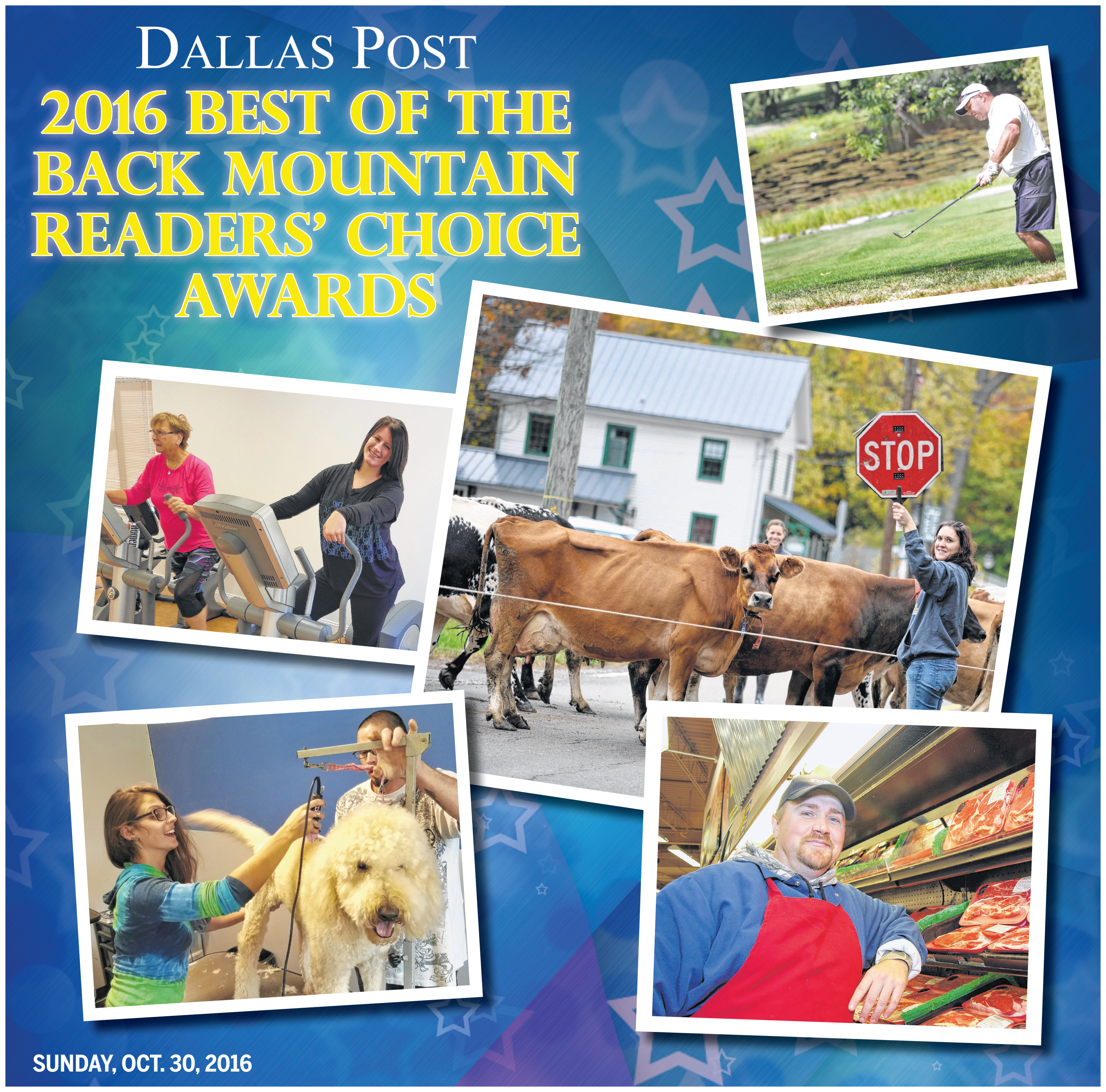 Best of the Back Mountain Readers' Choice Awards 2016