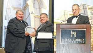 Misericordia University presents the Trustee Associates Award
