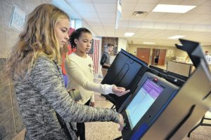 Landslide win for Trump at Dallas Middle School's mock presidential election