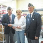 Daddow-Isaacs Dallas American Legion Post 672 contributes to Back Mountain Food Bank