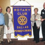 Dallas Rotary Club donates to Back Mountain Memorial Library
