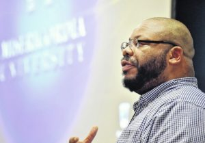 Misericordia University students share their stories of racism at a panel discussion