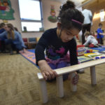 Block Party at Back Mountain Memorial Library teaches about relationships, spacial concepts and architecture
