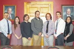 Wyoming Valley West January Seniors of the Month honored