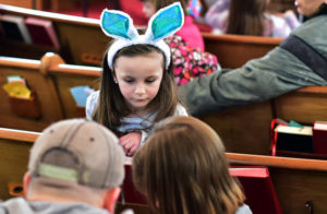 Egg hunt offers fun, family time at Lehman-Idetown United Methodist Church