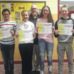 Lake-Lehman Junior High Students of the Month