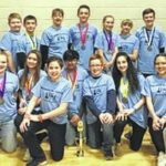 Dallas Middle School competes at Science Olympiad