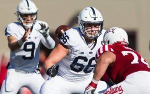 Lake-Lehman graduate Connor McGovern has made the switch to center for the Penn State football team