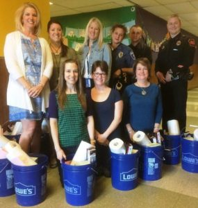 Dallas School District classrooms are stocked with 'Go Buckets/Lock-In Buckets' for emergency preparedness