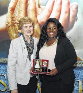 Misericordia student receives Mercy Chisam Award